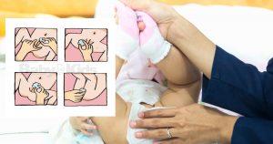 ทำความสะอาดอวัยวะเพศของลูกสาว