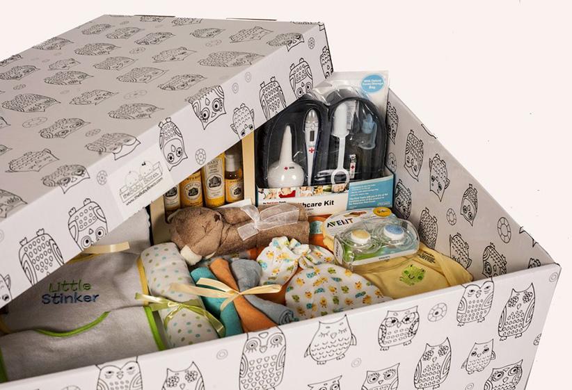 ทารกฟินแลนด์นอนในกล่อง