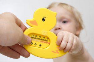 เทอร์โมมิเตอร์วัดอุณหภูมิอ่างอาบน้ำเด็กอ่อน