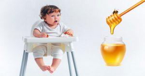 ทารกกินน้ำผึ้ง