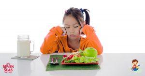 ลูกไม่กินข้าว เบื่ออาหาร