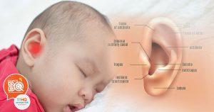 หูชั้นกลางอักเสบในเด็ก