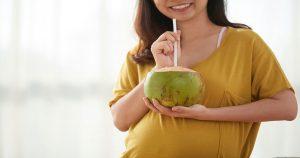 กินน้ำมะพร้าวตอนท้อง